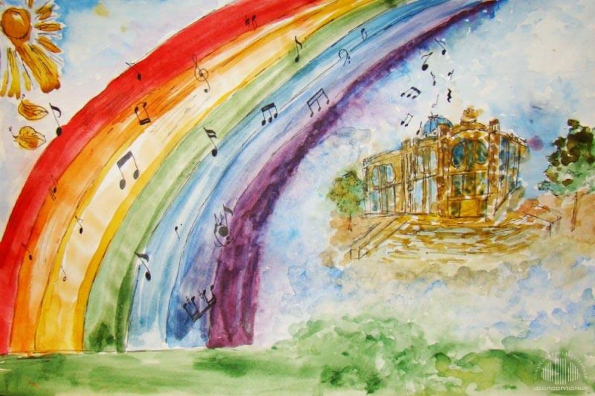 Нарисуй в дневнике музыкальных наблюдений картинку на тему звучащая природа, днем рождения
